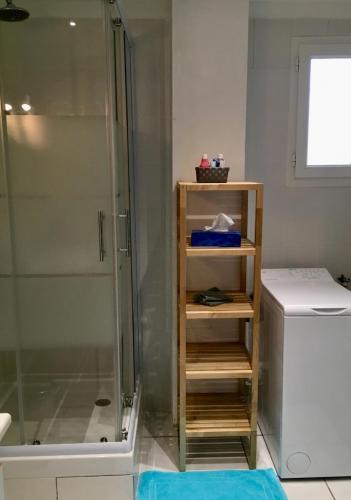Salle de bain, Cabine de douche, lave-linge